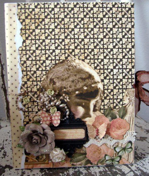 Vintage book box front