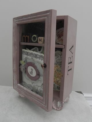 Mother Day Mini Album and tea Box