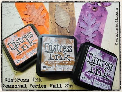 Distress Ink Tim Holtz