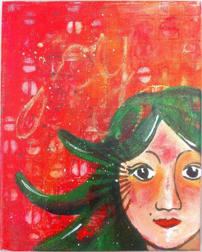 Lisas painting