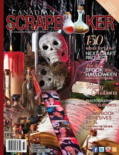 Canadian Scrapbooker FALL 2013 COVER