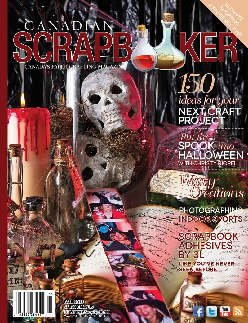 Canadian Scrapbooker FALL 2013 COVER