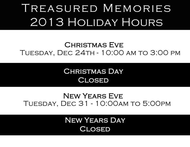 2013 Christmas Hours