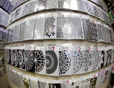 Stencil Wall