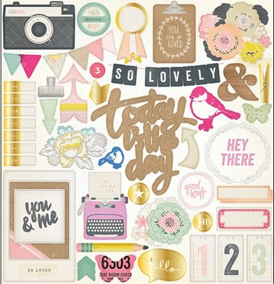 Crate-paper-chipboard-foil-stickers-notes-and-things-collection