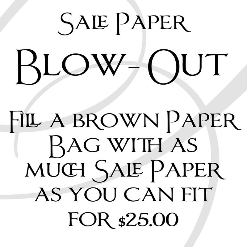 Sale Paper