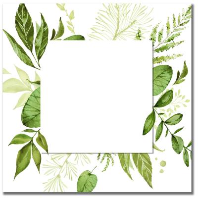 Watercolor Wreath A