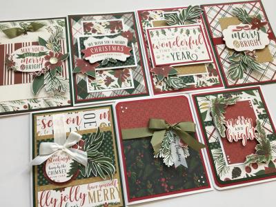 Twas The Night Before Christmas Card Class Treasured Memories