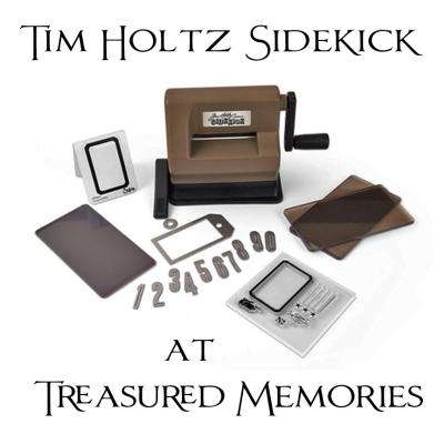 New Tim Holtz Sizzix Sidekick Treasured Memories Scrapbook Store