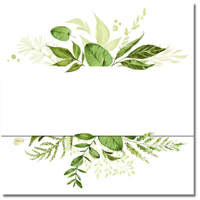 Watercolor Wreath B