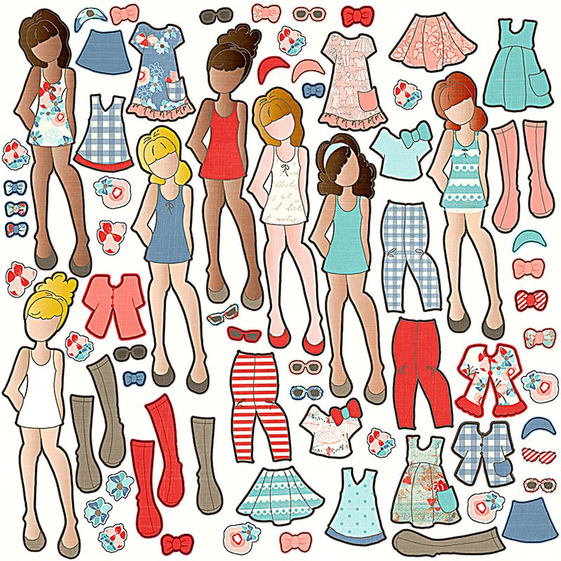Paper Doll 2