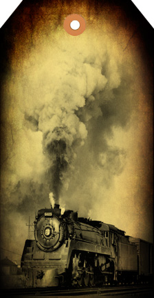 Steam Train Tag