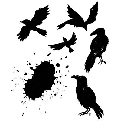 Tim-holtz-cms310-ravens