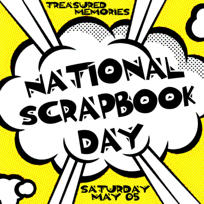 National Scrapbook Day promo 2018