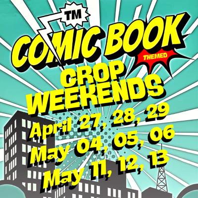 Comic Book Crop Dates 2018