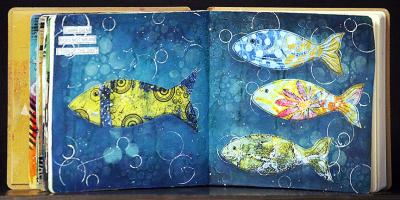 Dooreen Art Journal Class