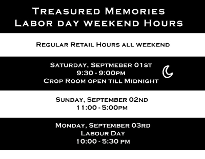 Labour Day Hours