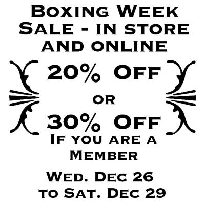 Boxing Week