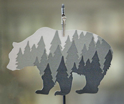 Bear Die cut