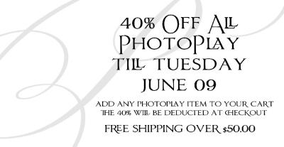 PhotoPlay Sale