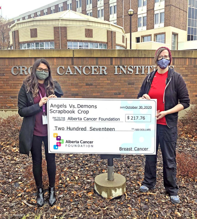 Cancer Cheque