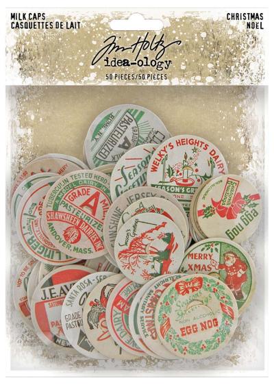 Christmas Milk Caps