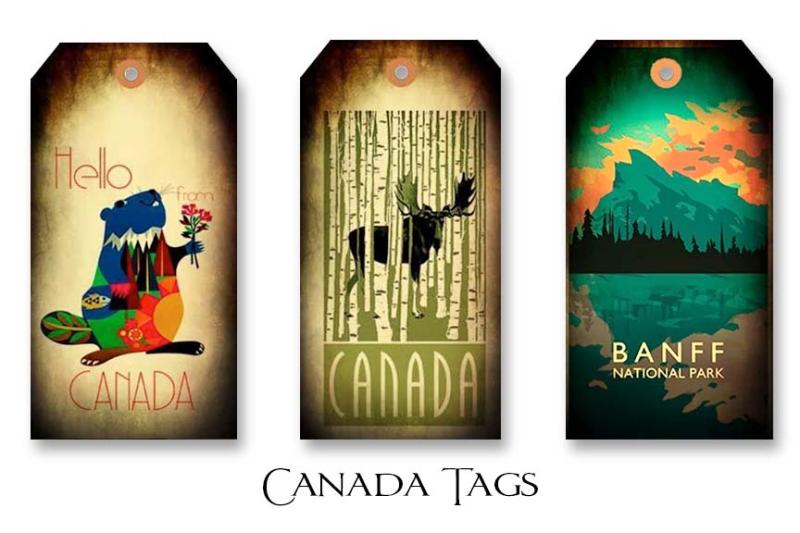 Canada Tags