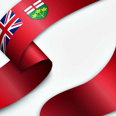 Ontario Ribbon