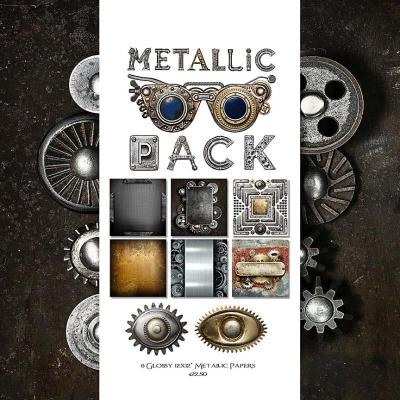Metallic Pack Cover