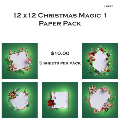 Christmas magic 2 packaging