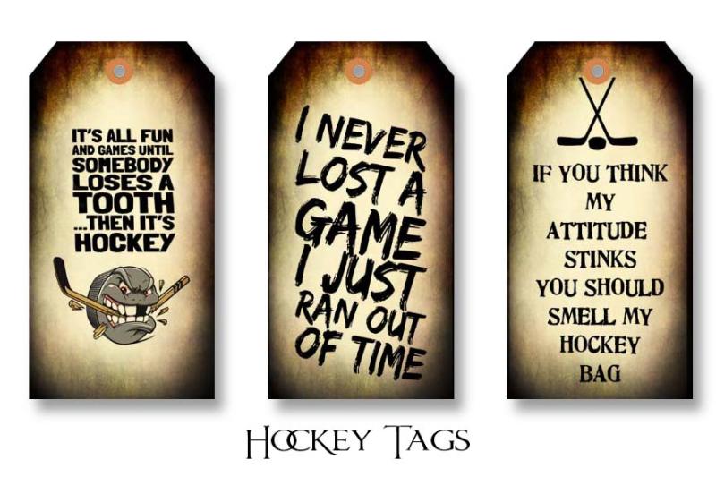 Hockey Tags