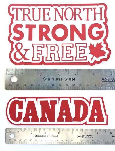 Canada Die Cuts