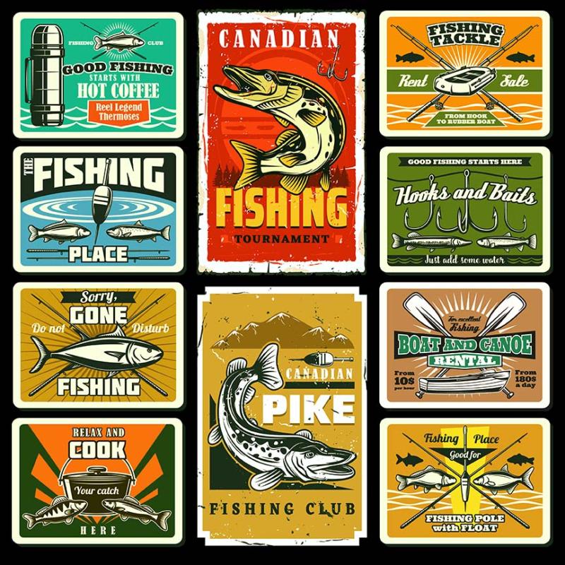 Fishing Plates