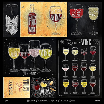 Wine Collage Sheet copy