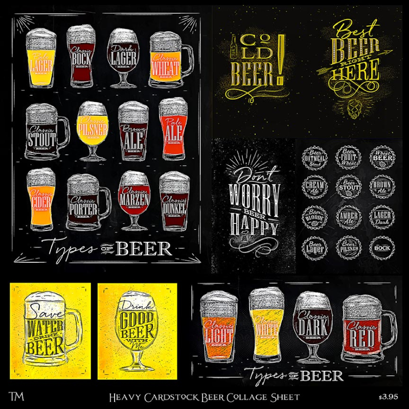 Beer Collage Sheet copy