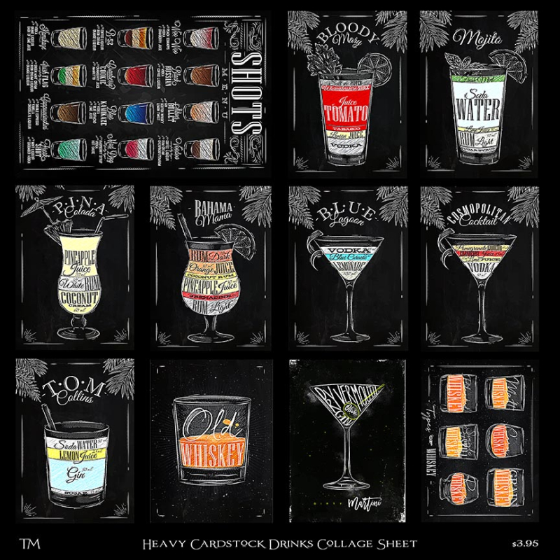 Drinks Collage Sheet copy