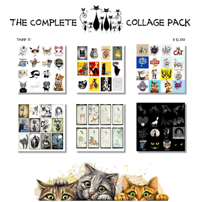 Cat Collage Pack Cover