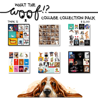 Dog Collage Collection Pack copy