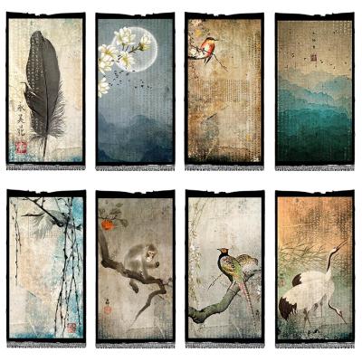 Eight Murals Collage Sheet